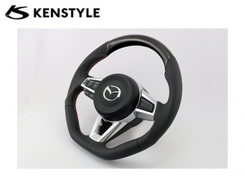 KENSTYLE STEERING WHEEL CARBON 方向盤 MAZDA MX-5 ND 2016-