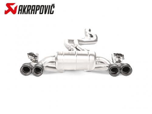 AKRAPOVIC EVOLUTION LINE 中尾段(鈦合金+CARBON尾) BMW F87 M2 2017-