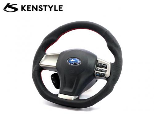 KENSTYLE STEERING WHEEL RED STICH A-TYPE 紅線方向盤 SUBARU LEGACY 2009-2014