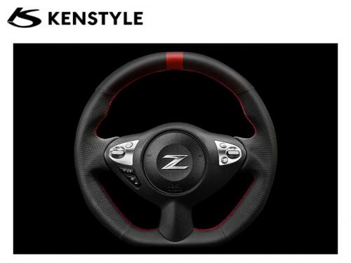 KENSTYLE STEERING WHEEL RED STICH 紅線方向盤 NISSAN 370Z 2008-2014
