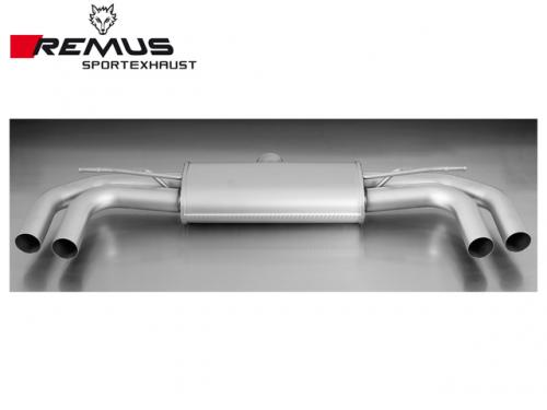 REMUS SPORTS EXHAUST 尾段 AUDI 8V S3 4D 2014-