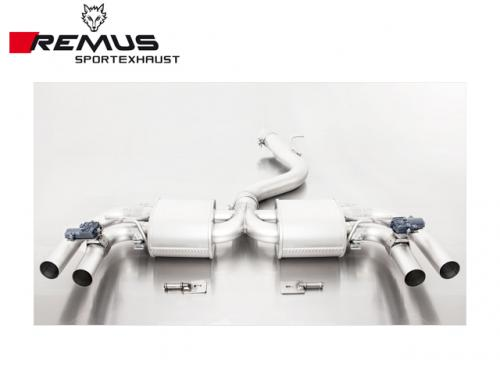REMUS SPORTS EXHAUST 尾段(含尾飾管) AUDI 8V RS3 2016-