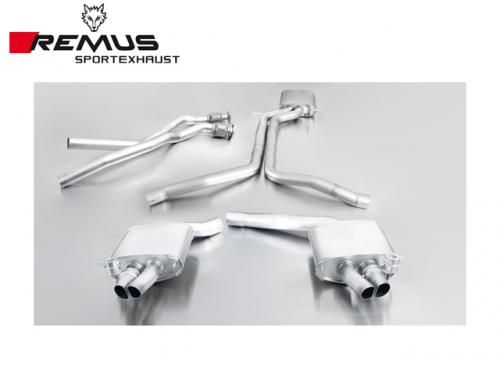 REMUS SPORTS EXHAUST 中尾段(含觸媒段) AUDI B8 RS4 2013-
