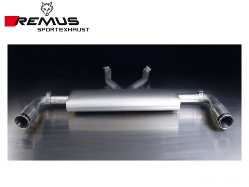 REMUS SPORTS EXHAUST 尾段(含尾飾管) AUDI 4L Q7 3.0 TDI 2007-2016