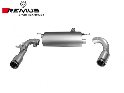 REMUS SPORTS EXHAUST 雙尾段(含尾飾管) BMW F30 335i 2012-