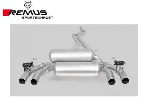 REMUS SPORTS EXHAUST 中尾段(含CARBON尾飾管) BMW F87 M2 2016-