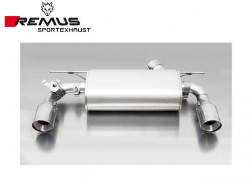REMUS SPORTS EXHAUST 雙尾段(含尾飾管) BMW F20 M140i 2017-