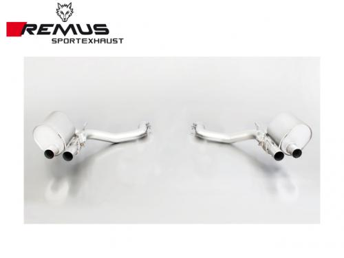 REMUS SPORTS EXHAUST 中尾段(含CARBON尾飾管) MASERATI GHIBLI 2014-