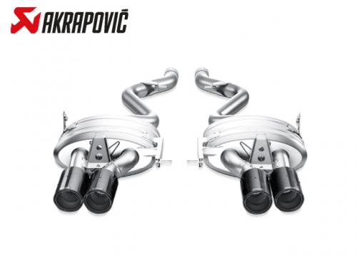 AKRAPOVIC SLIP-ON LINE 排氣管(鈦合金+CARBON) BMW E92 M3 2008-2013