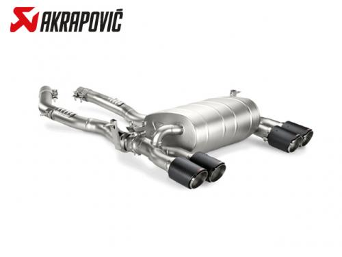 AKRAPOVIC SLIP-ON LINE 排氣管(鈦合金+CARBON) BMW F82 M4 2014-