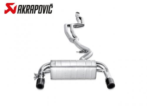 AKRAPOVIC EVOLUTION LINE 中尾段(鈦合金+CARBON尾) BMW F20 M140i