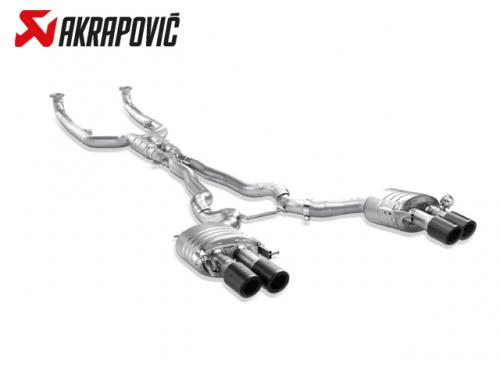 AKRAPOVIC EVOLUTION LINE 中尾段(鈦合金+CARBON尾) BMW F10 M5