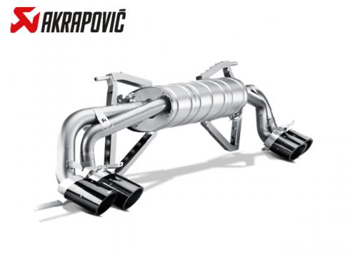 AKRAPOVIC SLIP-ON LINE 排氣管(鈦合金+CARBON) LAMBORGHINI GALLARDO LP570-4 2014-