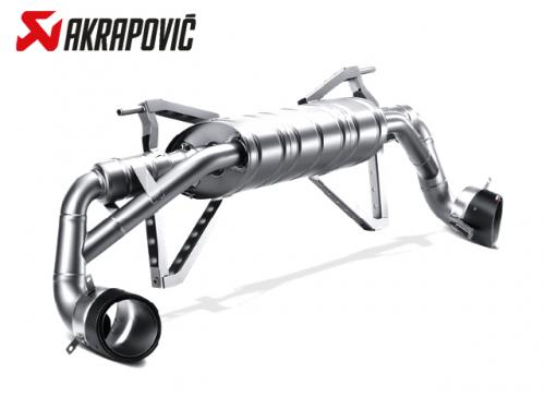 AKRAPOVIC SLIP-ON LINE 排氣管(鈦合金+CARBON) AUDI R8 5.2 V10 2013-2016