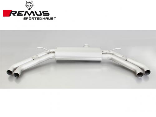 REMUS SPORTS EXHAUST 中尾段(含尾飾管) MERCEDES-BENZ C117 CLA250 2013-