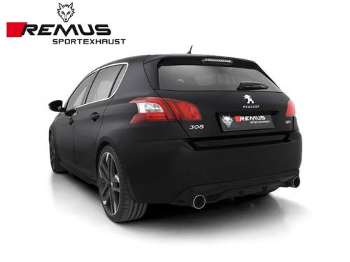 REMUS SPORTS EXHAUST 中尾段 PEUGEOT 308 II GTI 2016-