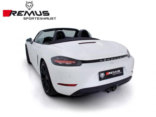 REMUS SPORTS EXHAUST 尾段(含尾飾管) PORSCHE 718 CAYMAN 982 2017-