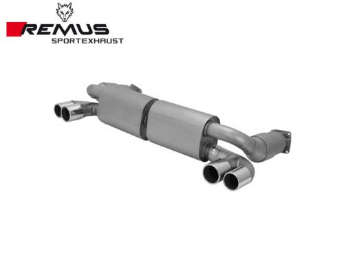 REMUS SPORTS EXHAUST 尾段(含尾飾管) PORSCHE 997 TURBO 3.6 2006-2008