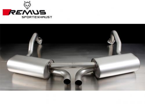 REMUS SPORTS EXHAUST 尾段(含尾飾管) PORSCHE CAYMAN 981 2013-2016