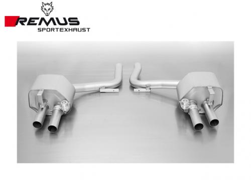 REMUS SPORTS EXHAUST 雙尾段(含尾飾管) PORSCHE PANAMERA TURBO 2010-