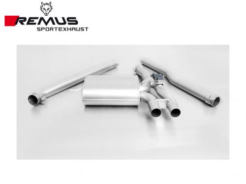 REMUS SPORTS EXHAUST 中尾段(含CARBON尾飾管) MINI COOPER S F56 2015-
