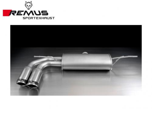REMUS SPORTS EXHAUST 中尾段(含尾飾管) VW GOLF VII 1.2 TSI 2015-