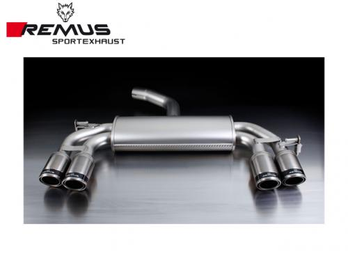 REMUS SPORTS EXHAUST 尾段(含尾飾管) VW SCIROCCO 2009-