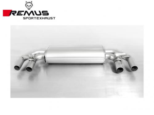 REMUS SPORTS EXHAUST 尾段(含CARBON尾飾管) VW GOLF R VII 2015-