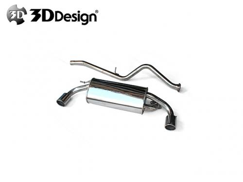 3DDesign EXHAUST SYSTEM 排氣管 BMW F20 116i 2012-