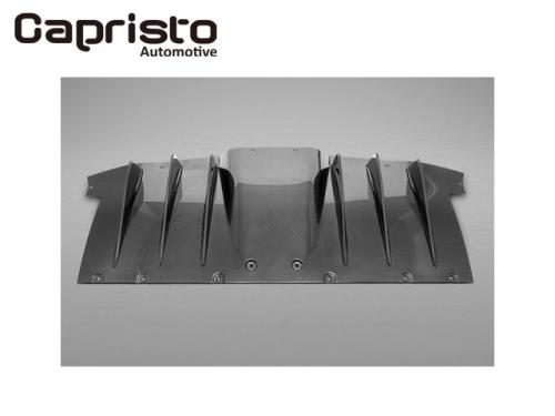CAPRISTO CARBON rear diffusor(matte) 後下擾流板(平光) FERRARI 458 ITALIA 2010-