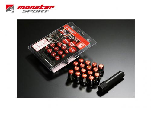 MONSTER SPORT LOCK&NUT SET 防盜螺絲組(M12x1.25 20P)