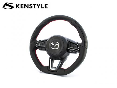 KENSTYLE STEERING WHEEL RED STICH MD01 紅線方向盤 MAZDA3 BM 2017-