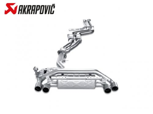 AKRAPOVIC EVOLUTION LINE 中尾段(鈦合金+CARBON尾) BMW E82 1M 2011-2012