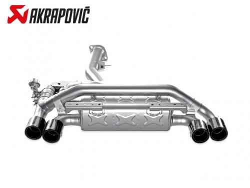 AKRAPOVIC SLIP-ON LINE 排氣管(鈦合金+CARBON) BMW E82 1M 2011-2012