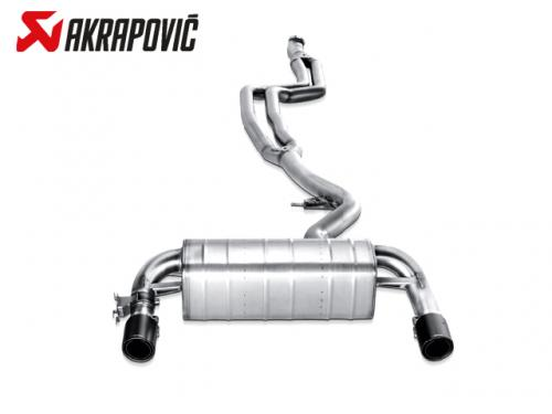 AKRAPOVIC EVOLUTION LINE 中尾段(鈦合金+CARBON尾) BMW F30 335i 2012-2015