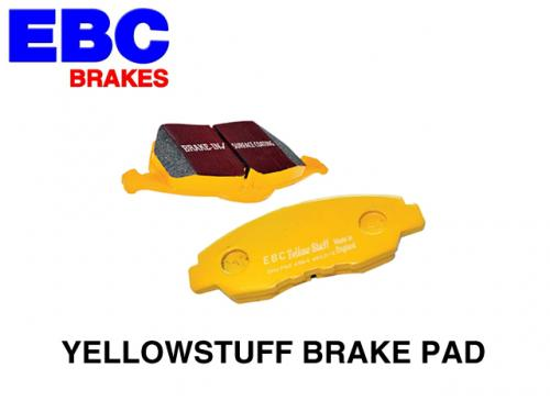 EBC YELLOWSTUFF BRAKE PAD 來令片(黃皮) AP CP7600 卡鉗